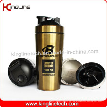 Bomba de Proteína de Aço Inoxidável 750ml (KL-7068)
