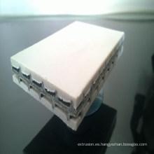 Máquina plástica de la plantilla arquitectónica Máquina hueco de la placa del PE