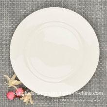 Assiette à dîner Fine Bone China 8 pouces