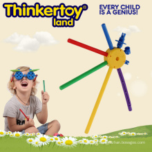 Colorful DIY Educational Building Block Toys for 3-6 Children