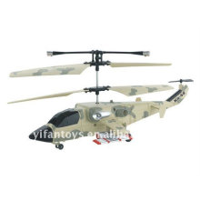 China Brinquedos Mini 3 CH R / C Camuflagem Pintura Helicóptero com GYRO 818