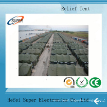Disaster Relief Tents Are Hand Sewn in China