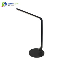 Black Dimmable LED Table Lamp 4 Lighting Modes 5-Level Dimmer With Touch-Sensitive Control Panel