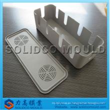 Moldeo por inyección eléctrica de la caja de conexiones eléctrica del molde de la caja del interruptor eléctrico plástico de la inyección