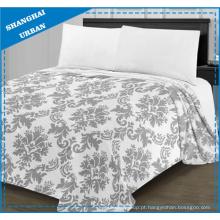 Flanela super macia lenço de cama cobertor impresso