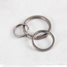 3pcs Titan Schlüsselbund Granit-Waschvorgang persönliche Accessoires Schlüsselanhänger