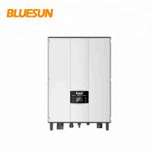 Onduleur de pontage Bluesun 5000w 6000w sans batterie pour système solaire de pontage réseau 5kw 6kw pour tension triphasée