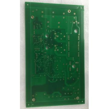 2 capas 1.6mm 1OZ soldadura verde ENIG pcb edge plating