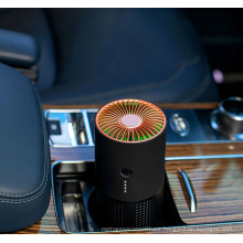 New Arrival Negative Ion Car Air Purifier H12 HEPA Filter Anion Generator Portable Mini USB Air Purifiers for Bedroom Car Home