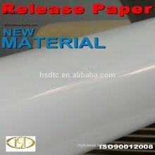 Papier de libération de silicone