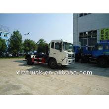 10 m3 Dongfeng auto carga y en carga basura camión de automóviles