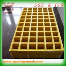 FRP / GRP / Fibre de verre / grille pour l'approbation de la marche des escaliers ISO SGS