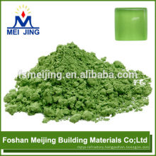 pigment as fruit green color high temperature pigment for making crystal mosaic