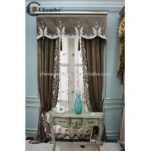 China proveedor cortinas turcas cortinas de terciopelo bordado