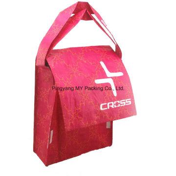 Customized Folding Document Postal Flap Shoulder Bag