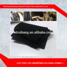 air filter material carbon fiber fabric activated carbon ACF felt