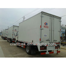 Low price and high performance Dongfeng trucks and cargo van manufacturer