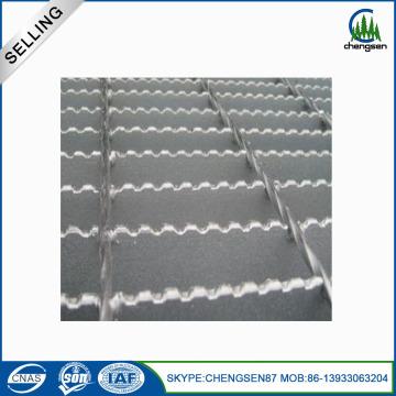 Construcción materiales metálicos dientes tipo reja de acero