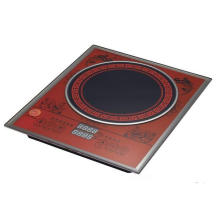 Dispositivo de cozinha pequeno, fogão de indução de 8 Digitas Display