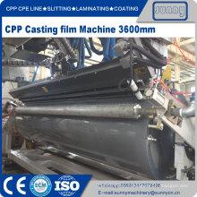 CPP CPE Multilayer Co-extrusão Cast filme Linha