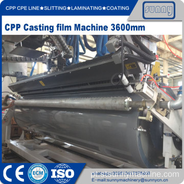 CPP CPE Multilayer Co-extrusão Cast filme Linha