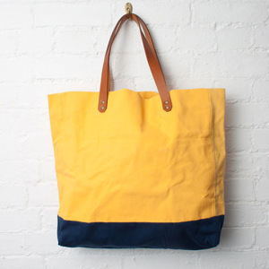 Single shouder canvas bag wtih logo