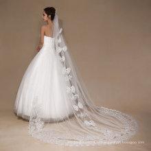 Aoliweiya тюль один слой лучшие продажи Свадебная фата для невесты