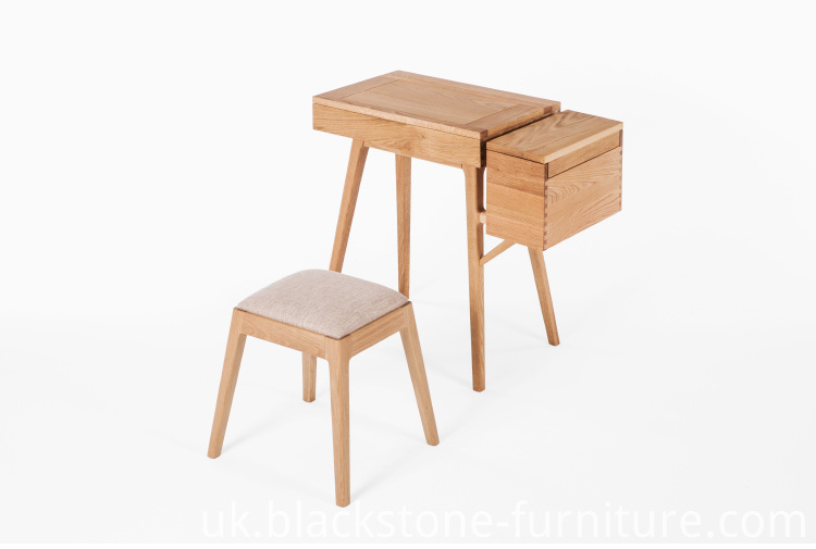 Wooden Dresser And Stool