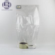 Épicerie claire sacs d'emballage plats pour les aliments