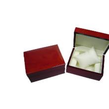 Caixa de exposição luxuosa do relógio da laca de madeira com venda por atacado do descanso (BX-WP-WR)