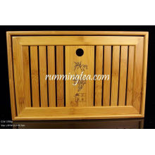 Bamboo Tea Table Middle Size-35*22.5*7cm
