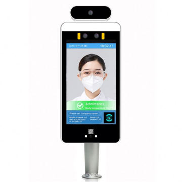 Hot Sale Face Recognition Access Control Camera Non-contact automatic IR body thermometer Face Recognition camera
