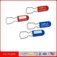 Jcpl-203wire Candado Tamper Evident Safety Lock Sello de seguridad del medidor eléctrico