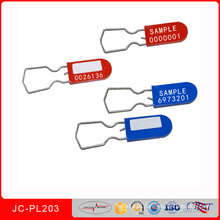 Jcpl-203wire Padlock Tamper Evident Safety Lock Electric Meter Security Seal