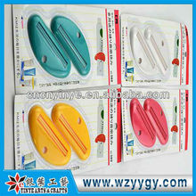 Exprimidor de pasta dental popular tubo plástico promocional personalizado