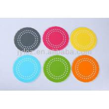 coaster de tasse de silicone écologique