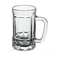 Mug de bière en verre de 550 ml (BM028)