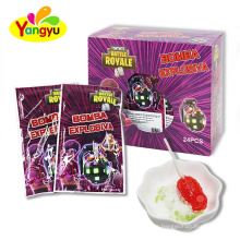 Three Type Lollipop With Popping Candy