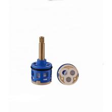 Cheap bathroom faucets 33mm shower plastic water cartridge diverter valve core