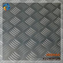 3003 feuille d'aluminium à carreaux H112