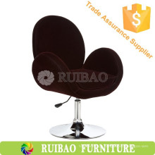 Huzhou New Style Fabric Swan Chair Bar Stool Cadeira confortável para casa