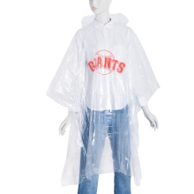 Promotional emergency PE rain ponchos