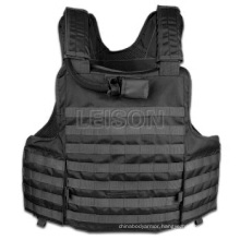 Tactical Vest with Concealable Hydration Pocket