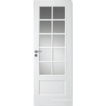 Diseño de baño Hot Products MDF Puerta compuesta, puerta interior con vidrio