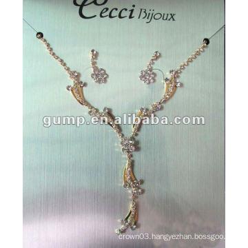 Latest bridal wedding jewelry set (GWJ12-520)