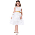 Grace Karin Newest Design White Flower Girls Dresses Patterns CL4841