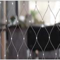 Malha de cabo de aço inoxidável da corda de fio da escadaria