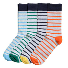 Men′s Cotton Crew Stocking Sports Business Socks (MA039)