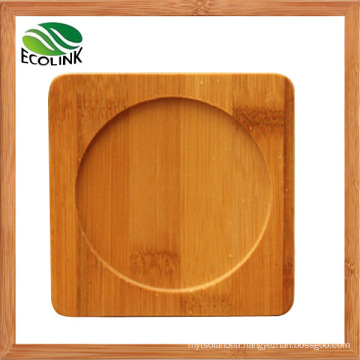 Bamboo Square Drink Coaster Cup Mat