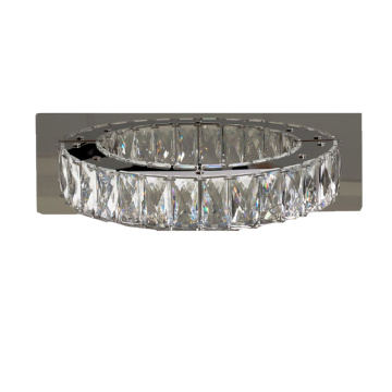 dormitorio led anillo de luz de cristal decorativa lámpara de pared